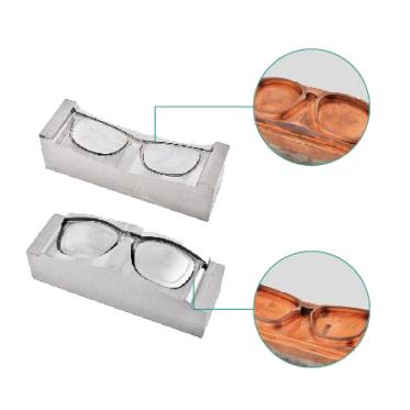 眼镜框前后模镜面加工